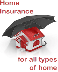 House insurance for all types of home